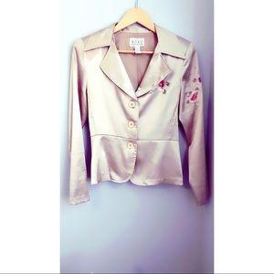 Xoxo beautiful gold blazer